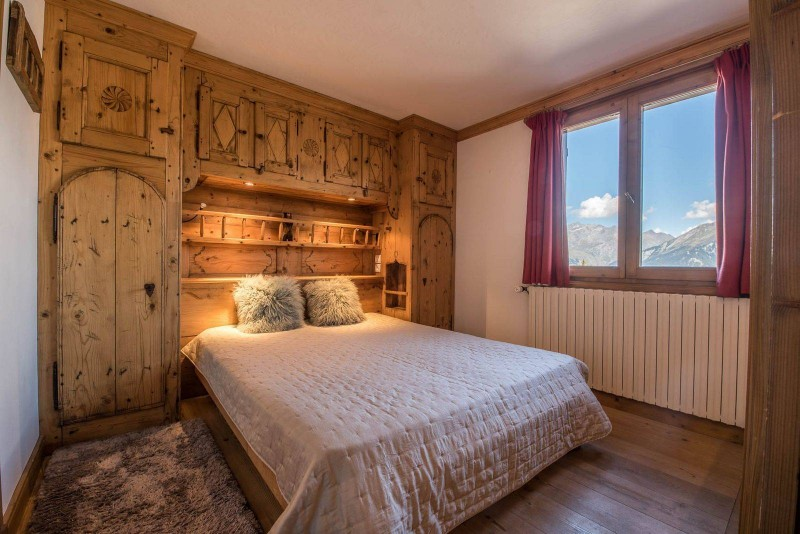 Courchevel 1850 Location Chalet Luxe Chrysoprase Chambre