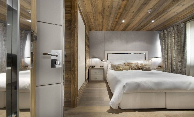 Courchevel 1850 Luxury Rental Chalet Crysotile Bedroom