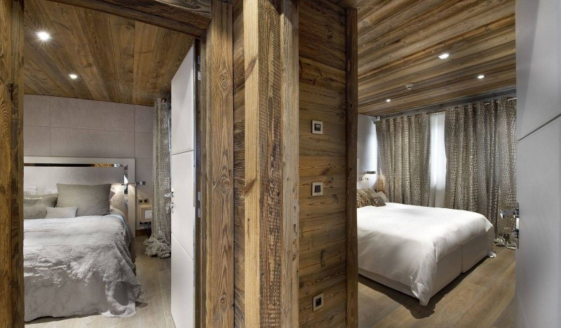 Courchevel 1850 Luxury Rental Chalet Crysotile Bedroom 2
