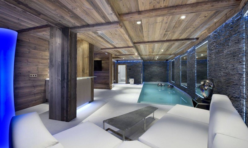 Courchevel 1850 Location Chalet Luxe Chrysotile Piscine