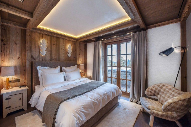 Courchevel 1850 Location Chalet Luxe Chudobaïte Bedroom 3