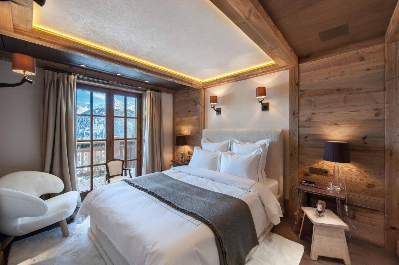 Courchevel 1850 Location Chalet Luxe Chudobaïte Bedroom 6