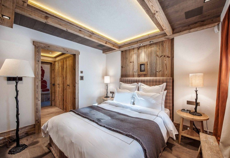 Courchevel 1850 Location Chalet Luxe Chudobaïte Bedroom 7