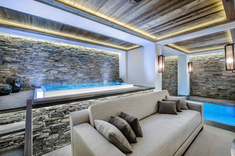 Courchevel 1850 Location Chalet Luxe Chudobaïte Relaxing Area