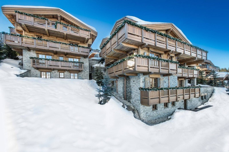 Courchevel 1850 Location Chalet Luxe Chudobaïte Exterior