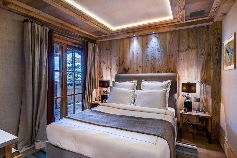 Courchevel 1850 Luxury Rental Chalet Chursinite Bedroom