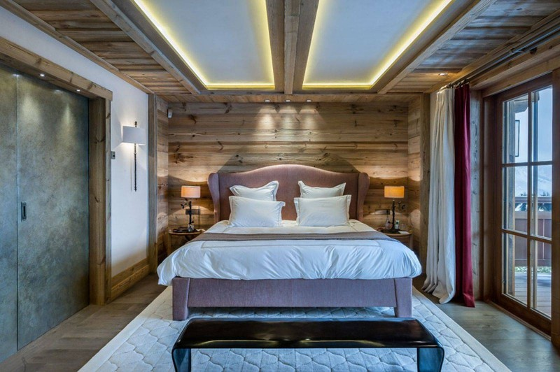 Courchevel 1850 Luxury Rental Chalet Chursinite Bedroom 6