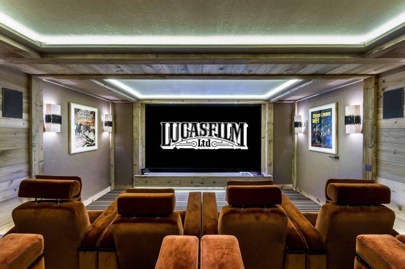 Courchevel 1850 Luxury Rental Chalet Chursinite Cinema Room