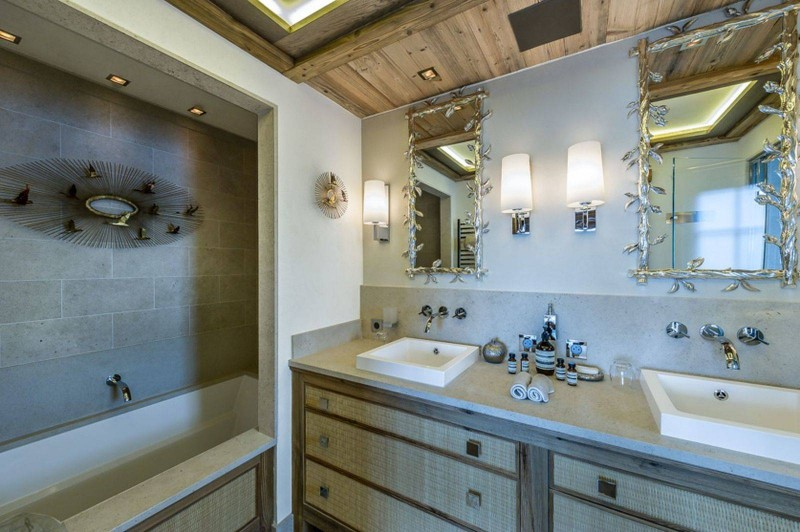 Courchevel 1850 Luxury Rental Chalet Chursinite Bathroom 2