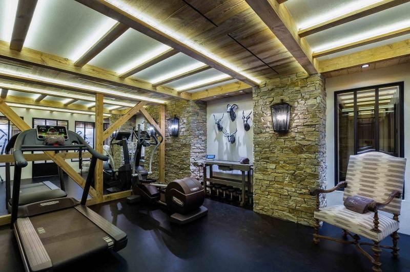 Courchevel 1850 Luxury Rental Chalet Chursinite Fitness Room
