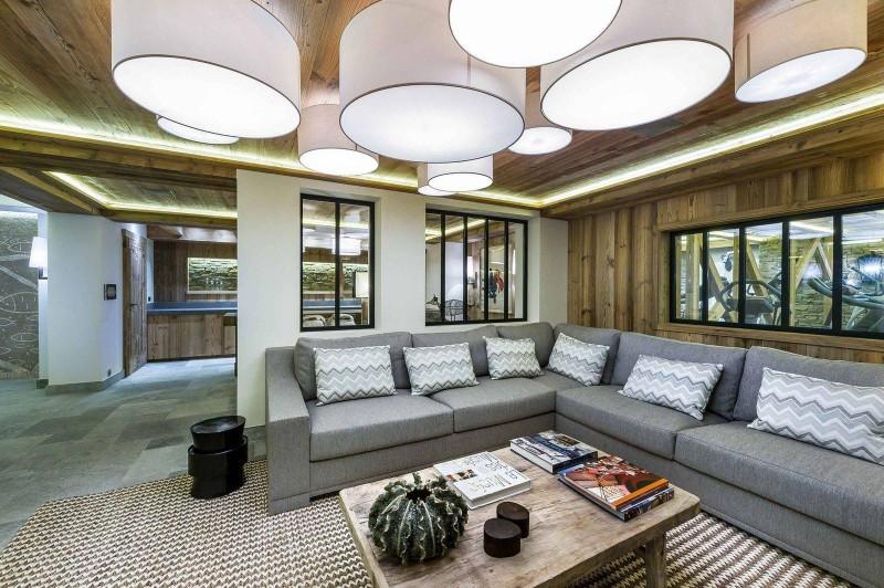 Courchevel 1850 Luxury Rental Chalet Chursinite Living Room 4
