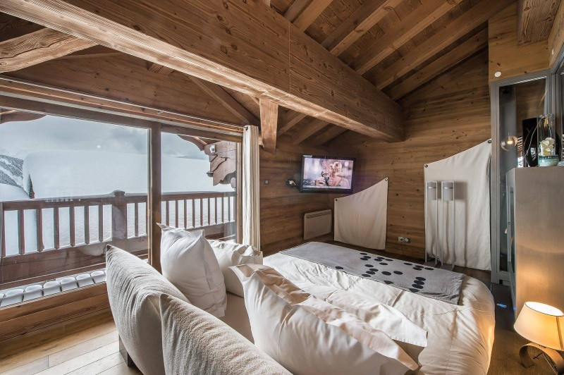 Courchevel 1850 Location Chalet Luxe Nigrine Chambre