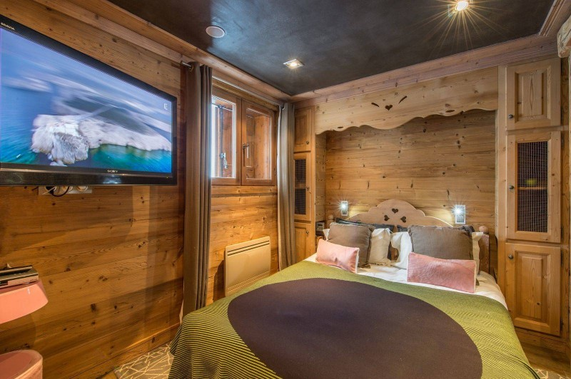 Courchevel 1850 Location Chalet Luxe Nigrine Chambre 2