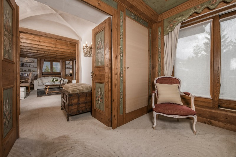Courchevel 1850 Luxury Rental Chalet Nilia Chambre 3