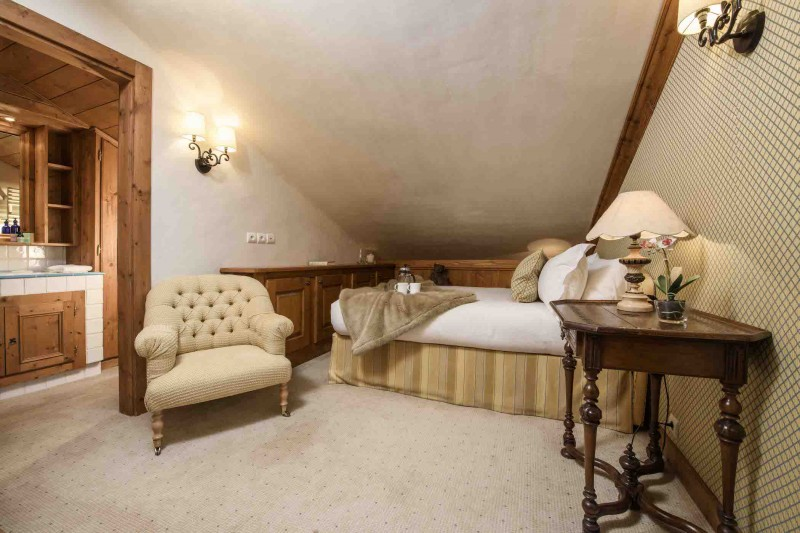 Courchevel 1850 Luxury Rental Chalet Nilia Chambre 9