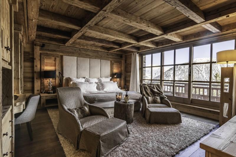Courchevel 1850 Location Chalet Luxe Nilion Chambre