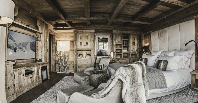 Courchevel 1850 Location Chalet Luxe Nilion Chambre9