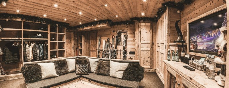 Courchevel 1850 Location Chalet Luxe Nilion Local A Skis