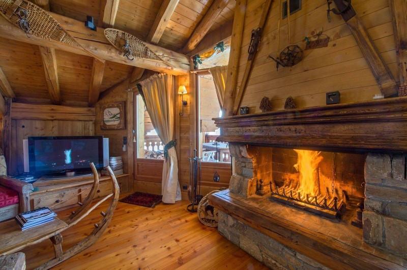 Courchevel 1850 Luxury Rental ChaletTantalite Living Room 2