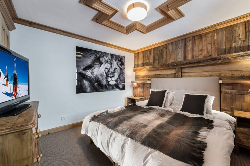 Courchevel 1850 Luxury Rental Chalet Tazuy Bedroom 3