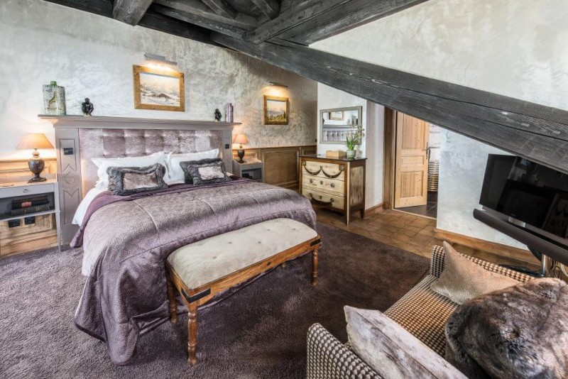 Courchevel Location Chalet Luxe Clairite Chambre 2