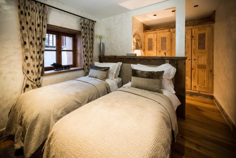 Courchevel Location Chalet Luxe Clairite Chambre 3