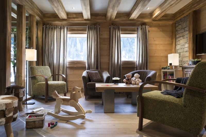 Châtel Rental Apartment Luxury Fabianite Reception