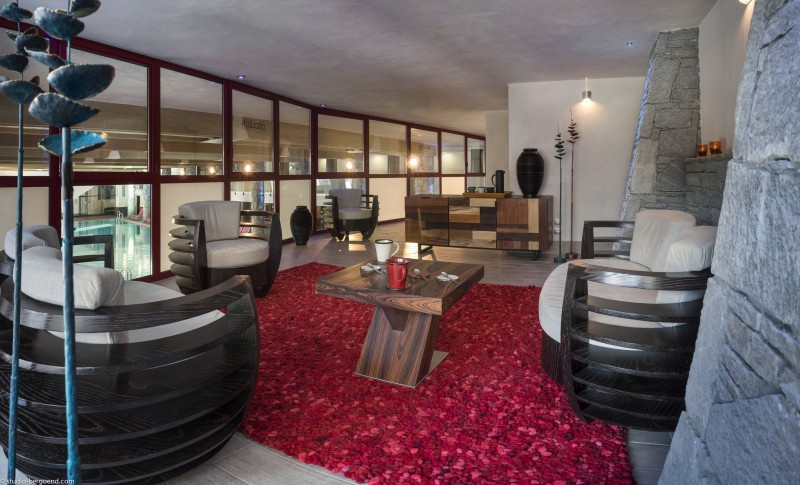 Flaine Rental Apartment Luxury Fangisse Reception