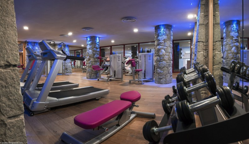 Flaine Rental Apartment Luxury Fangisse Fitness Room