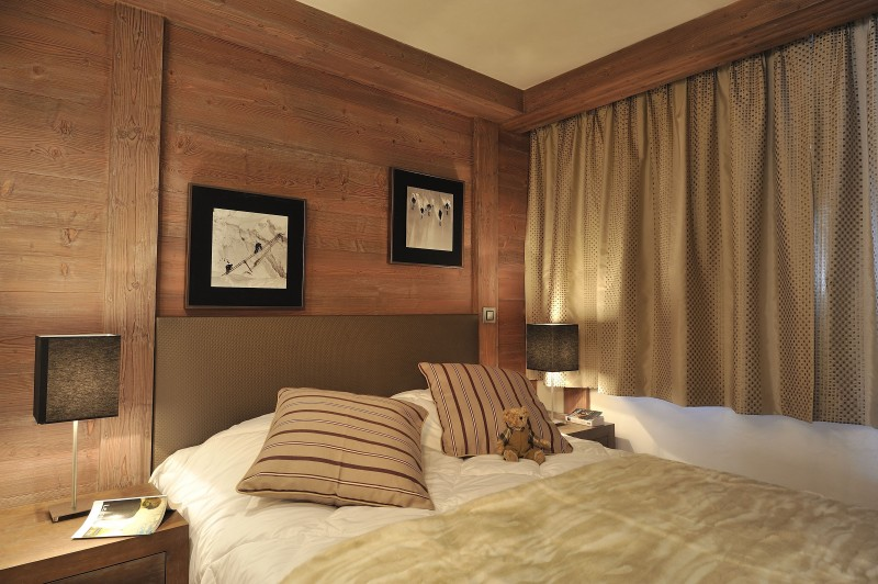Flaine Location Appartement Luxe Fassaite Chambre