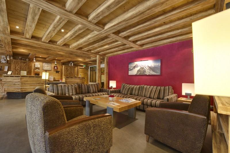 Flaine Rental Apartment Luxury Fassaite Duplex Reception