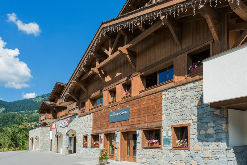 Flaine Rental Apartment Luxury Fassite Outside