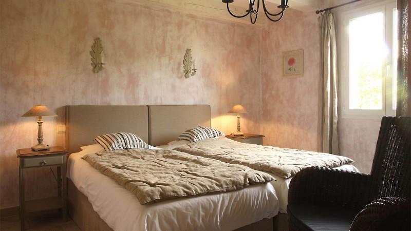 Forcalquier Location Villa Luxe Lunite Chambre Lits Simples