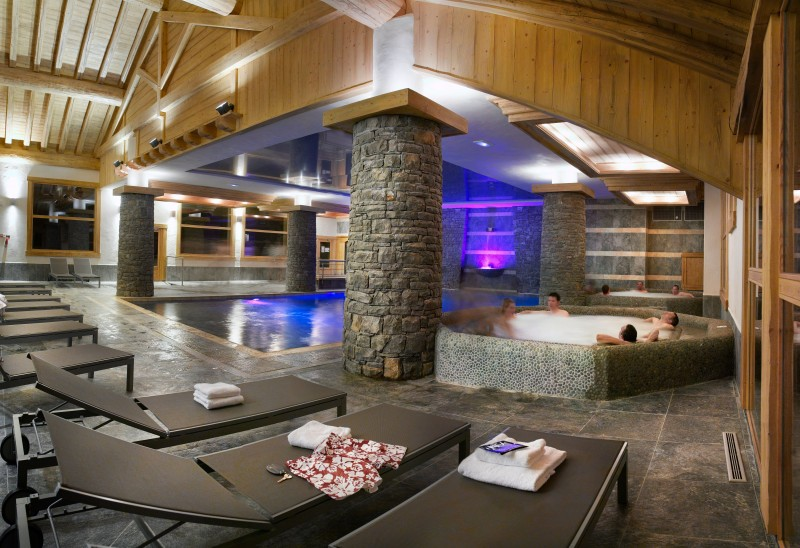 La Plagne Luxury Rental Apartment In Residence Jalate Pool