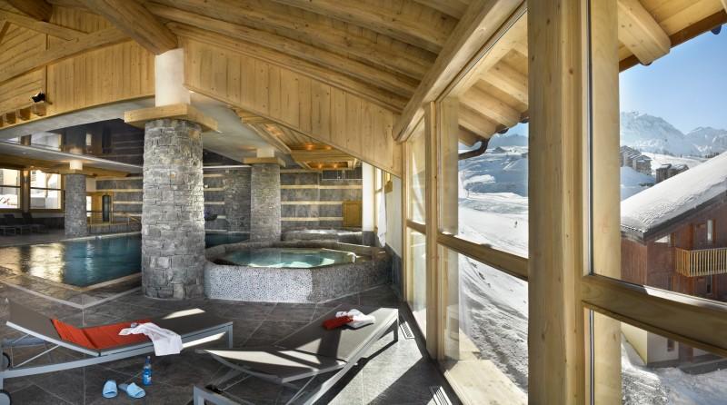La Plagne Luxury Rental Apartment In Residence Jalate Spa