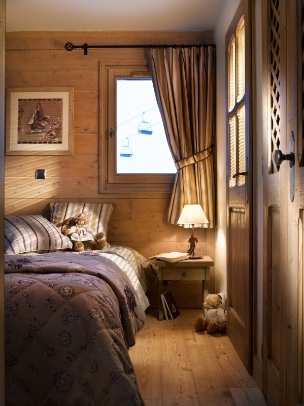 La Plagne Location Appartement Dans Résidence Luxe Jalute Chambre