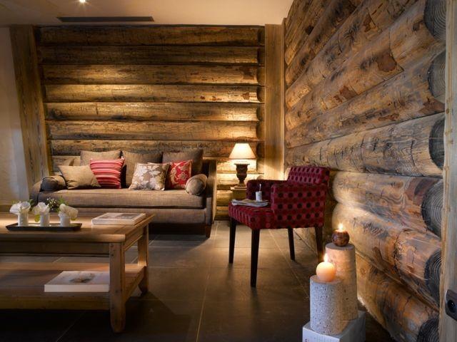 La Plagne Location Appartement Dans Résidence Luxe Jalute Duplex Salon