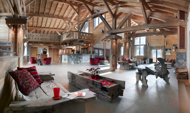 La Plagne Location Appartement Luxe Lavenice Réception 1