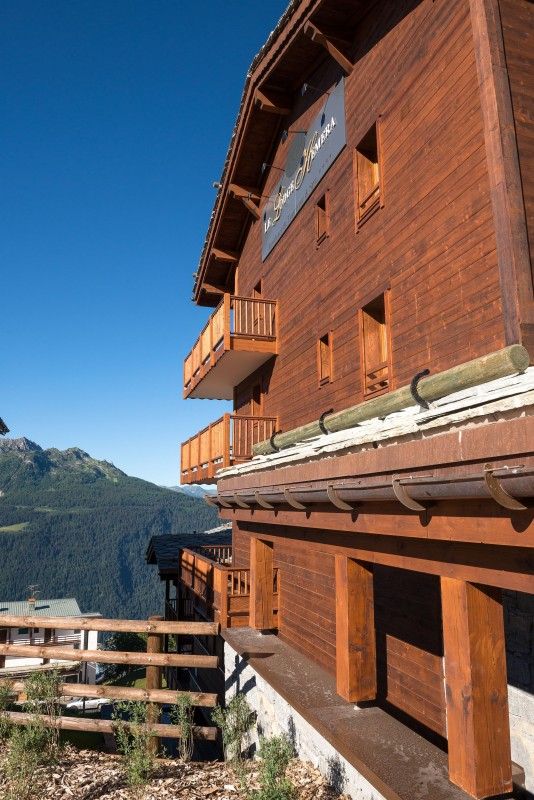 La Rosière Montvalezan Location Appartement Luxe Lynx Eye Façade