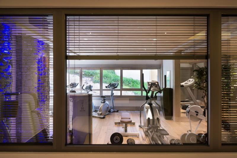 La Rosière Montvalezan Rental Apartment Luxury Lynx Onyx Fitness Room