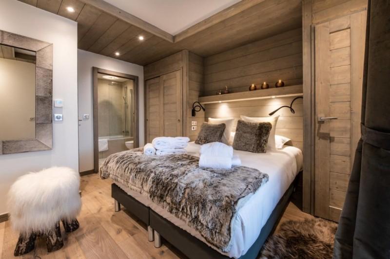 La Tania Luxury Rental Chalet Alta Bedroom