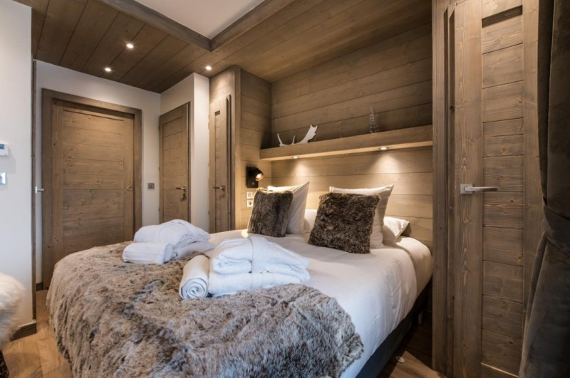La Tania Luxury Rental Chalet Alta Bedroom 3