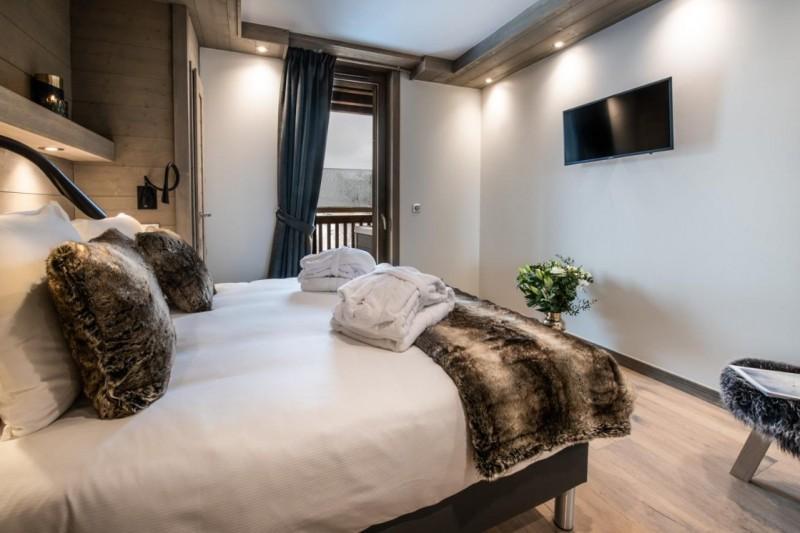 La Tania Luxury Rental Chalet Alta Bedroom 4