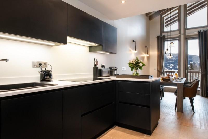 La Tania Luxury Rental Chalet Alta Kitchen