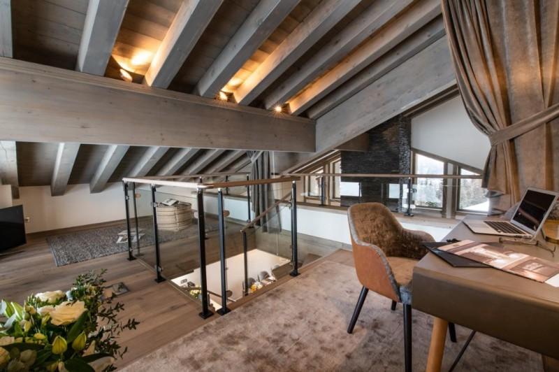 La Tania Luxury Rental Chalet Alta Mezzanine