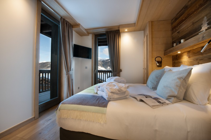 La Tania Luxury Rental Chalet Alte Bedroom 4
