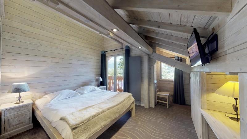 La Tania Location Chalet Luxe Coukite Chambre Double