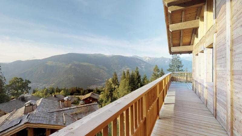 La Tania Location Chalet Luxe Couzite Balcon