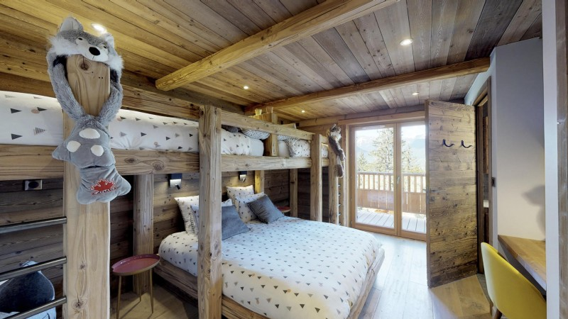 La Tania Location Chalet Luxe Couzite Chambre2