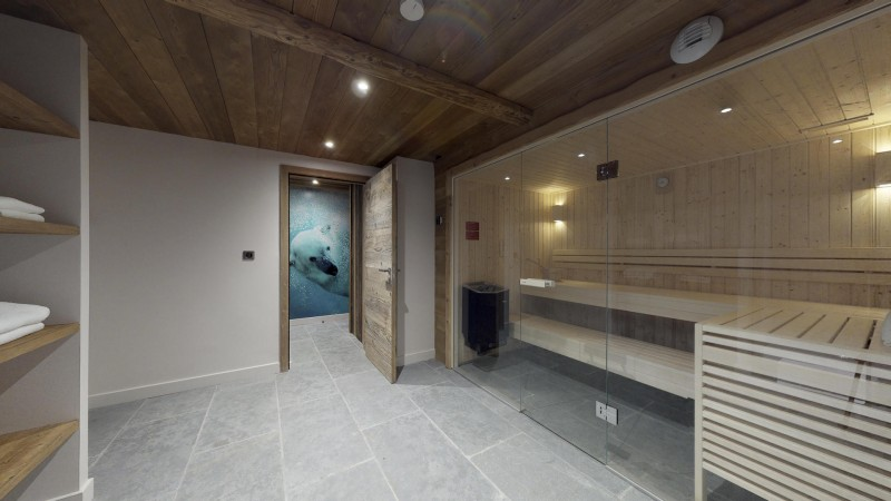 La Tania Location Chalet Luxe Couzite Sauna